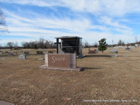 SNAPP, FAMILY PLOT (OVERVIEW) - Taney County, Missouri | FAMILY PLOT (OVERVIEW) SNAPP - Missouri Gravestone Photos