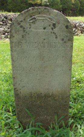 WEATHERMAN, C. D. - Taney County, Missouri   C. D. WEATHERMAN - Missouri Gravestone Photos
