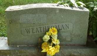 WEATHERMAN, ELMER L - Taney County, Missouri | ELMER L WEATHERMAN - Missouri Gravestone Photos