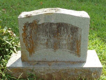 WEATHERMAN, LAWRENCE - Taney County, Missouri   LAWRENCE WEATHERMAN - Missouri Gravestone Photos