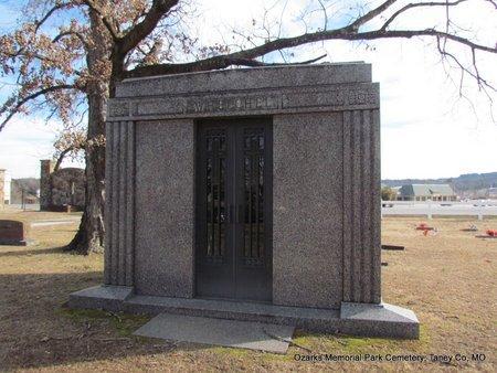 WHELCHEL, FAMILY  MAUSOLEUM - Taney County, Missouri   FAMILY  MAUSOLEUM WHELCHEL - Missouri Gravestone Photos