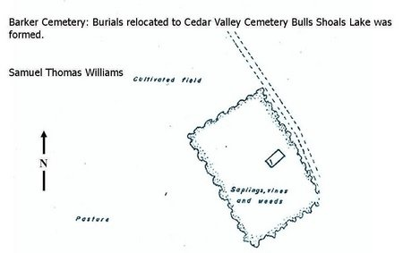 WILLIAMS, SAMUEL THOMAS - Taney County, Missouri | SAMUEL THOMAS WILLIAMS - Missouri Gravestone Photos