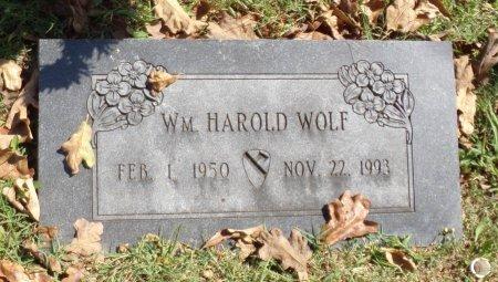 WOLF, WILLIAM HAROLD - Taney County, Missouri   WILLIAM HAROLD WOLF - Missouri Gravestone Photos