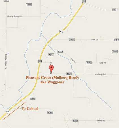 *, CEMETERY LOCATION - Texas County, Missouri | CEMETERY LOCATION * - Missouri Gravestone Photos
