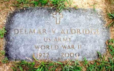 ALDRIDGE, DELMAR VIRGIL  VETERAN WWII - Texas County, Missouri | DELMAR VIRGIL  VETERAN WWII ALDRIDGE - Missouri Gravestone Photos