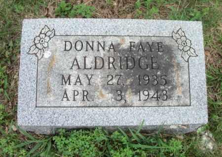 ALDRIDGE, DONNA FAYE - Texas County, Missouri | DONNA FAYE ALDRIDGE - Missouri Gravestone Photos