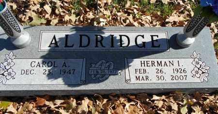 ALDRIDGE, HERMAN I. - Texas County, Missouri | HERMAN I. ALDRIDGE - Missouri Gravestone Photos