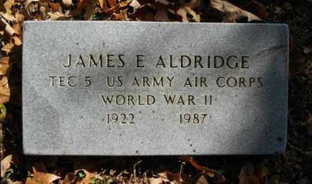 ALDRIDGE, JAMES E. VETERAN WWII - Texas County, Missouri | JAMES E. VETERAN WWII ALDRIDGE - Missouri Gravestone Photos