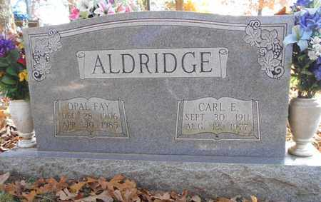 ALDRIDGE, CARL E. - Texas County, Missouri | CARL E. ALDRIDGE - Missouri Gravestone Photos