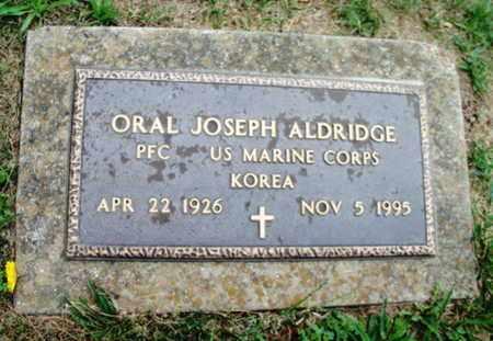 ALDRIDGE, ORAL JOSEPH  VETERAN KOREA - Texas County, Missouri | ORAL JOSEPH  VETERAN KOREA ALDRIDGE - Missouri Gravestone Photos