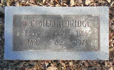 "ALDRIDGE, W.C. ""BILL"" - Texas County, Missouri | W.C. ""BILL"" ALDRIDGE - Missouri Gravestone Photos"