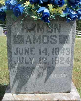 AMOS, HAMON VETERAN UNION - Texas County, Missouri   HAMON VETERAN UNION AMOS - Missouri Gravestone Photos