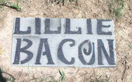 BACON, LILLIE - Texas County, Missouri | LILLIE BACON - Missouri Gravestone Photos