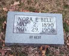 BELL, NORA E. - Texas County, Missouri | NORA E. BELL - Missouri Gravestone Photos