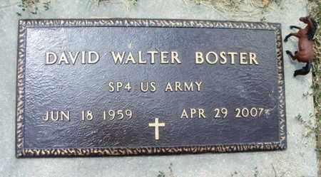 BOSTER, DAVID WALTER  VETERAN - Texas County, Missouri | DAVID WALTER  VETERAN BOSTER - Missouri Gravestone Photos