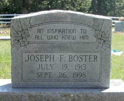 BOSTER, JOSEPH FRANCIS - Texas County, Missouri | JOSEPH FRANCIS BOSTER - Missouri Gravestone Photos