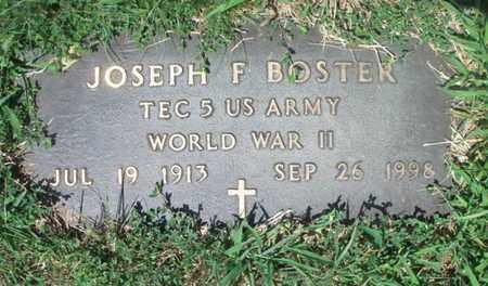 BOSTER, JOSEPH FRANCIS VETERAN WWII - Texas County, Missouri | JOSEPH FRANCIS VETERAN WWII BOSTER - Missouri Gravestone Photos