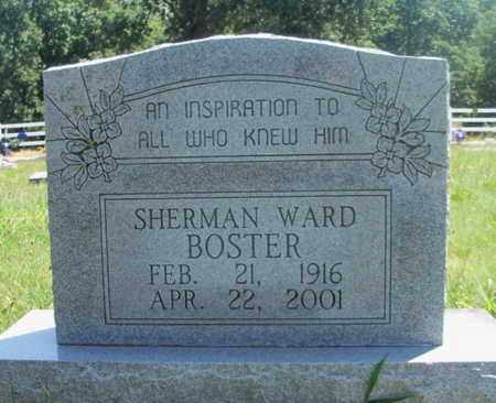 BOSTER, SHERMAN WARD - Texas County, Missouri | SHERMAN WARD BOSTER - Missouri Gravestone Photos