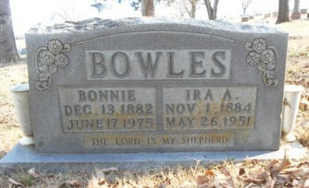 BOWLES, IRA A. - Texas County, Missouri | IRA A. BOWLES - Missouri Gravestone Photos