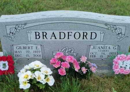 BRADFORD, GILBERT EROY - Texas County, Missouri | GILBERT EROY BRADFORD - Missouri Gravestone Photos