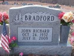 BRADFORD, JOHN RICHARD - Texas County, Missouri | JOHN RICHARD BRADFORD - Missouri Gravestone Photos