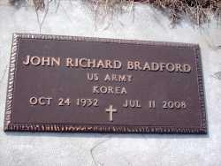 BRADFORD, JOHN RICHARD VETERAN KOREA - Texas County, Missouri | JOHN RICHARD VETERAN KOREA BRADFORD - Missouri Gravestone Photos