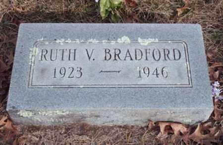 BRADFORD, RUTH VELMA - Texas County, Missouri   RUTH VELMA BRADFORD - Missouri Gravestone Photos