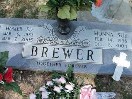 BREWER, MONNA SUE - Texas County, Missouri   MONNA SUE BREWER - Missouri Gravestone Photos