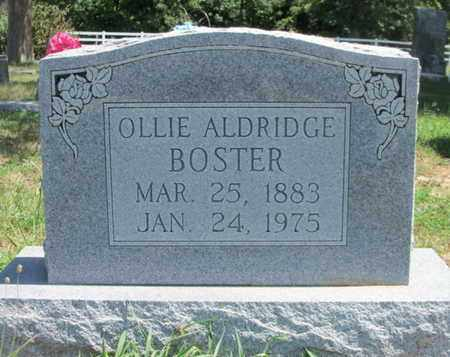 BOSTER, OLLIE SANDUSKY - Texas County, Missouri | OLLIE SANDUSKY BOSTER - Missouri Gravestone Photos