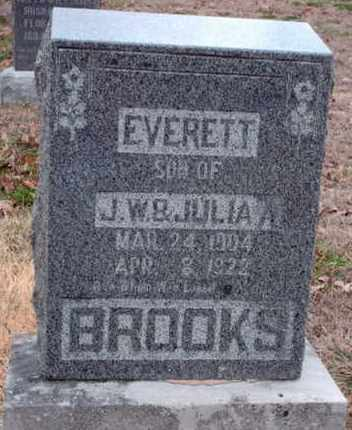 BROOKS, EVERETT - Texas County, Missouri | EVERETT BROOKS - Missouri Gravestone Photos