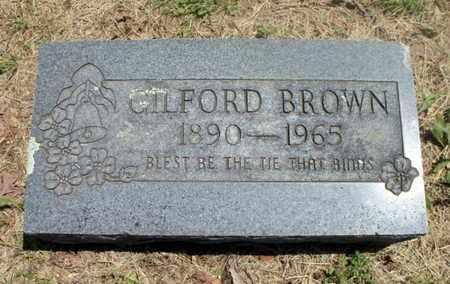BROWN, GILFORD - Texas County, Missouri | GILFORD BROWN - Missouri Gravestone Photos