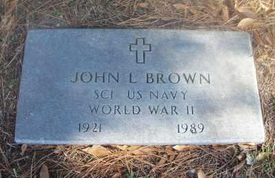 BROWN, JOHN L. VETERAN WWII - Texas County, Missouri | JOHN L. VETERAN WWII BROWN - Missouri Gravestone Photos