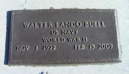 BUELL, WALTER LANDO VETERAN WWII - Texas County, Missouri | WALTER LANDO VETERAN WWII BUELL - Missouri Gravestone Photos
