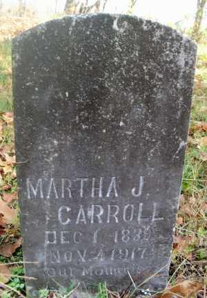 CARROLL, MARTHA JANE - Texas County, Missouri | MARTHA JANE CARROLL - Missouri Gravestone Photos