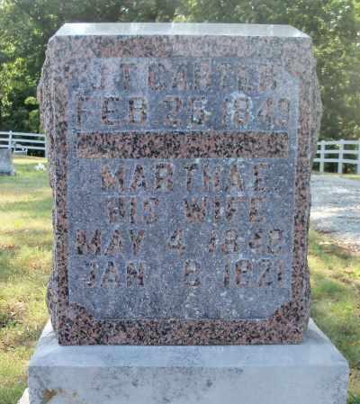 CARTER, MARTHA E. - Texas County, Missouri | MARTHA E. CARTER - Missouri Gravestone Photos