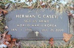 CASEY, HERMAN G. VETERAN WW II, KOREA - Texas County, Missouri | HERMAN G. VETERAN WW II, KOREA CASEY - Missouri Gravestone Photos