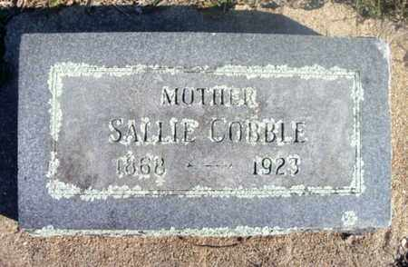 "SAVAGE COBBLE, SARAH ""SALLIE"" - Texas County, Missouri 