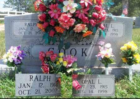 COOK, OPAL LEA - Texas County, Missouri | OPAL LEA COOK - Missouri Gravestone Photos