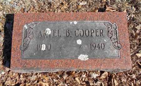 COOPER, ARVEL B. - Texas County, Missouri   ARVEL B. COOPER - Missouri Gravestone Photos