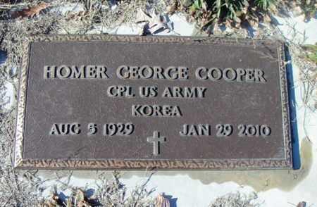 COOPER, HOMER GEORGE VETERAN KOREA - Texas County, Missouri | HOMER GEORGE VETERAN KOREA COOPER - Missouri Gravestone Photos