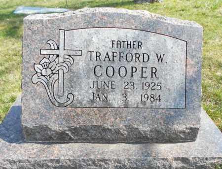 COOPER, TRAFFORD W. - Texas County, Missouri | TRAFFORD W. COOPER - Missouri Gravestone Photos