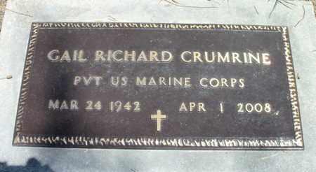 "CRUMRINE, GAIL RICHARD ""BEAR""  VETERAN - Texas County, Missouri | GAIL RICHARD ""BEAR""  VETERAN CRUMRINE - Missouri Gravestone Photos"