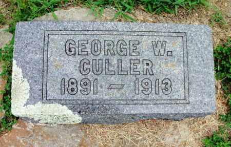 CULLER, GEORGE W. - Texas County, Missouri   GEORGE W. CULLER - Missouri Gravestone Photos