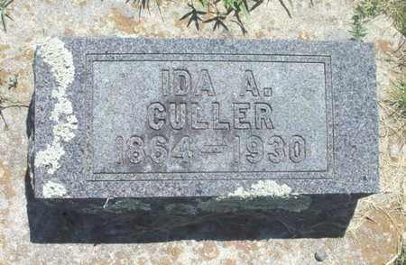 CULLER, IDA ALICE - Texas County, Missouri | IDA ALICE CULLER - Missouri Gravestone Photos