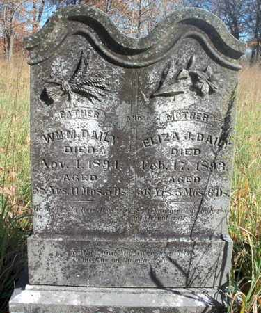DAILY, WILLIAM M. - Texas County, Missouri | WILLIAM M. DAILY - Missouri Gravestone Photos