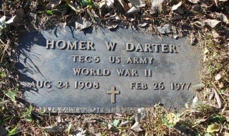 DARTER, HOMER WALTER VETERAN WWII - Texas County, Missouri | HOMER WALTER VETERAN WWII DARTER - Missouri Gravestone Photos