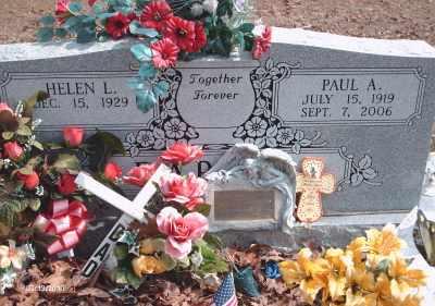 DARTER, PAUL ARTHUR - Texas County, Missouri | PAUL ARTHUR DARTER - Missouri Gravestone Photos
