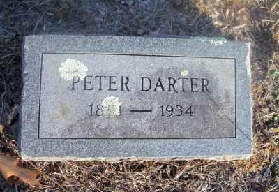 DARTER, PETER WILLIAM - Texas County, Missouri   PETER WILLIAM DARTER - Missouri Gravestone Photos