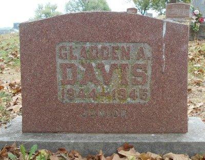DAVIS, GLADDEN ALLEN - Texas County, Missouri | GLADDEN ALLEN DAVIS - Missouri Gravestone Photos