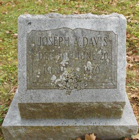 DAVIS, JOSEPH A. - Texas County, Missouri   JOSEPH A. DAVIS - Missouri Gravestone Photos